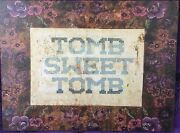 Haunted Mansion Tomb Sweet Tomb Prop Replica 11 Full Size Canvas Disneyland D23
