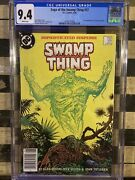 Dc 1985 Saga Of The Swamp Thing 37 1st Appearance John Constantine Cgc 9.4 W Pg