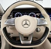 Mercedes-benz Oem W222 C217 S-class 2015 + Piano Black And Leather Steering Wheel
