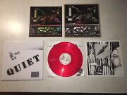 Nww To The Quiet Men From A Tiny Girl Red Vinyl Mailorder Nurse With Wound