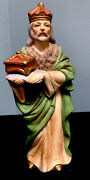 Homco 5216 Nativity King Vintage Hand Painted 7.5x3andrdquo