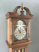 Howard Miller Barwick Colonial-style Grandmother Clock 4858 Westminster Chime
