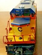 Lionel Chessie System Train Set 6-11705 Yellow In Ln Cond. In Original Boxes