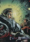 Billy Tan Show Signed Top Cow Cyber Force Summer 1996 Card 67 Chip V Mindgame