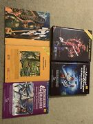 Assorted Vintage Dungeon And Dragons Hardcover Screens Game Dice Dandd D And D