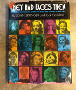 """1930's Actresses """"they Had Faces Then"""" Book - Hollywood Starlets - Photos And Bios"""