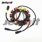 0763779 For Evinrude Johnson Outbaord Stator 185hp-225hp 4-8 Cyl 35-amp 2-stroke