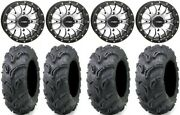 System 3 St-3 Machined 14 Wheels 27 Zilla Tires Yamaha Grizzly Rhino