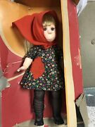 Vintage And Complete 1960and039s Poor Pitiful Pearl 17 Horsman Doll With Mess Up Box