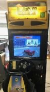 Sega Outrun 2 Sit-down Arcade Machine Game - Extra Courses - Great Condition