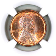 1910-s Ms62 Rb Ngc Lincoln Wheat Penny Superb Registry Quality Collection