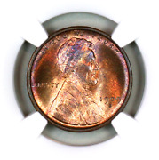 1909-s Ms66 Rb Ngc Lincoln Wheat Penny Superb Registry Quality Collection