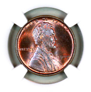 1909 Vdb Ms66 Rb Ngc Lincoln Wheat Penny Registry Quality Collection