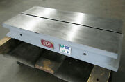30 X 15 Steel Riser Block T-slot Table - Workholding - Made In England Omt