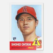 Shohei Ohtani Rc 2018 Topps Now Living 7 Los Angeles Angels Rookie Sold Out