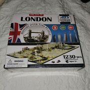 4d Cityscape Jigsaw Puzzle - London City Map With Time Layer Nib