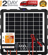 Powoxi-upgraded-20w-solar-battery-charger-maintainer External Smart 3-stages