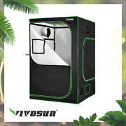 Vivosun 48x24x60 Mylar Hydroponic Grow Tent For Indoor Plant Growing 4and039 X2and039