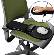 Felimoa Can Be Attached To Both Desk And Chair Armrest Wrist Rest Mouse Pad