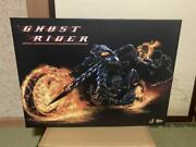 hot Toys Ghost Rider And Hell Cycle 1/6 Scale Plastic Movable Toy Figure With Box