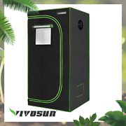 Vivosun 24 X 24 X 48 Mylar Hydroponic Grow Tent For Indoor Plant Growing 2and039x2and039