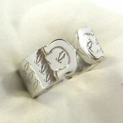 C2 2c 2000 Christmas Limited K18wg White Gold Ring 51 No. 11