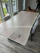 Handmade Epoxy Wooden Acacia Center Conference Table Tops Decorative Furniture