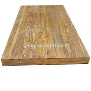 Solid Wood Tabletop For Coffee Table And Dining Table / Oak Top Wooden Top Table