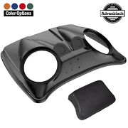 Dual 8and039and039 Speaker Lids For Advanblack/ Oem Harley Razor Chopped And King Tour Pak
