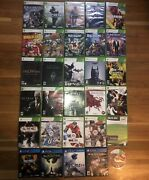 Lot Of Mixed 30 Video Games - Xbox 360 - Ps4 - Untested