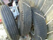 Trailer Tires With Spare Mount 4 Lug Galvanized 530 X 12 Pu Near Phl Airport