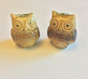 Owl Salt And Pepper Shakers Minature