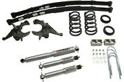 Belltech Lowering Kits For 1994-2004 Gm S10/s15 Ext Cab 4/5f 5r W/sp Shocks