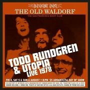 Todd Rundgren And Utop - Live At The Old Waldorf - San Francisco Aug 1978 [used Ve