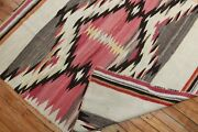 Antique Native American Navajo Kilim Rug Size 4and0392and039and039x4and0398and039and039