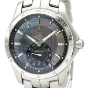 Free Shipping Pre-owned Tag Heuer Link Moon Pearl Japan Limited Shell Dial