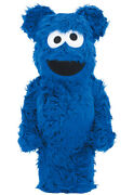 Be@rbrick Cookie Monster Costume Version 1000 Medicom Toy Figure Japan Shipped