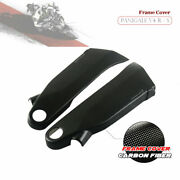 Carbon Fiber Motorcycle Frame Covers Panels Protector For Ducati Panigale V4 V4s