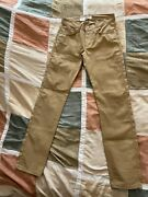 Naked And Famous Weird Guy Duck Canvas Selvedge Jeans 31 Mens New