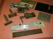 George Gorton Engraving Mill Plates Grinding Fixtures And Attachments