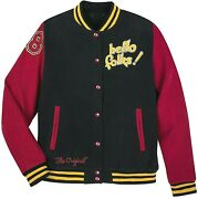 Disney Mickey Mouse And Pluto Varsity Jacket 28 For Adults Unisex New And Rare
