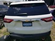 18 2018 Chevy Traverse Oem Trunk Hatch Decklid Lift Gate Assembly White