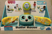 Fisher Price Rollinand039 Rovee Interactive Activity Music Lights Learning Toy - New