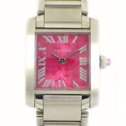 Free Shipping Pre-owned Tank Francaise Sm W51030q3 Xand039mas Limited Edition