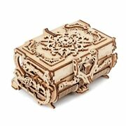 Diy Puzzle Wooden Mechanical 3d Assembled Creative Transmission Antique Jewelry