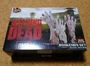 Amc The Walking Dead Gentle Giant Bookends Set Figure With Box Japan Shipped