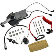 Remote Throttle Control Box And Ignition And Trim Switch Set For Johnson And Evinrude