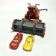 """2015 Disney Pixar Cars Frank The Combine Tractor Chase And Change Toy 10"""" No Tub"""