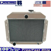 4 Rows Aluminum Radiator For 1951 1952 1953 Willys 2.6l New Us Shipping Cc5153