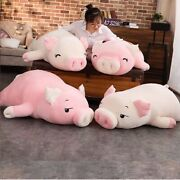 Squishy Pink Pig Stuffed Animal Doll Pillow Piggy Babe Toys Cute Decor Figurines